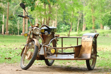 vintage motorcycle trailers
