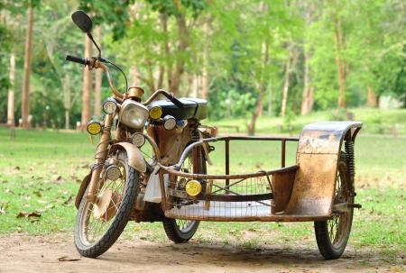 vintage motorcycle trailers