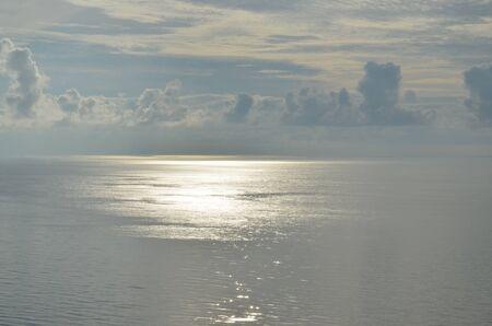 Blue sea and sky background. Adriatic sea Stock Photo - 16348955