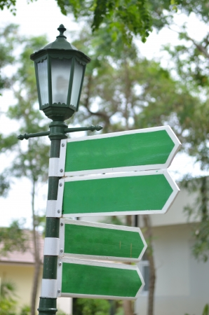 four street signs photo