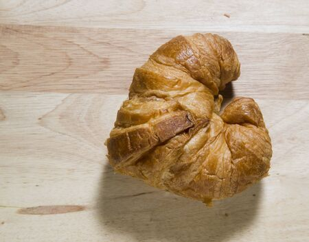 Fresh and tasty croissant photo