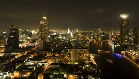 Modern city view of Bangkok, Thailand  Cityscape  Stock Photo - 17813175