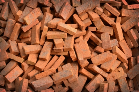 group of bricks square construction materials Stock Photo - 17980166