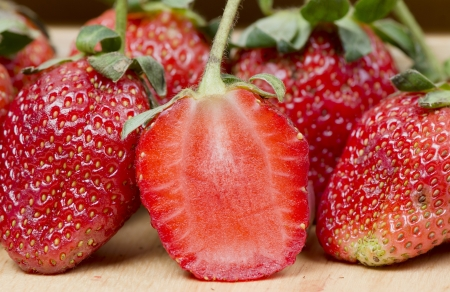 fresh strawberry Stock Photo - 17980150