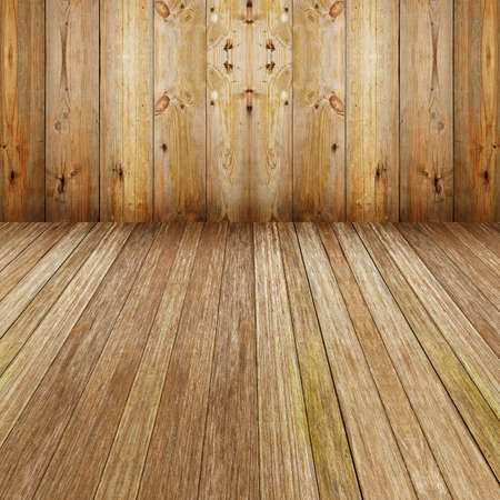 Wood plank brown texture background photo
