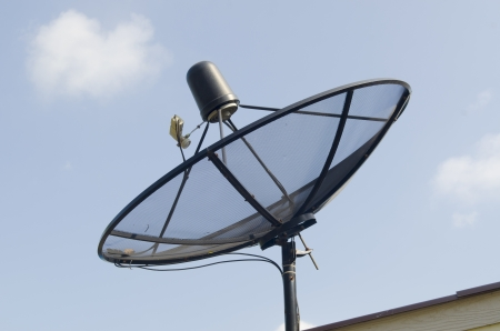 satellite dishes antenna photo