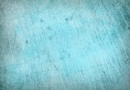 Abstract Background of a concrete wall fragment in blue color photo