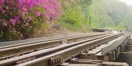 Railroad track photo