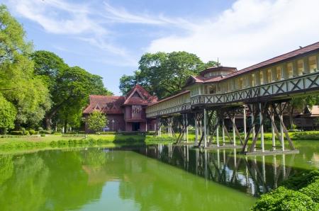 chand: Sa Nam Chand palace, Nakhon pathom, Thailand
