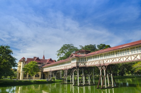 chand: Sa Nam Chand Palace, Nakhon Pathom, Tailandia Editorial