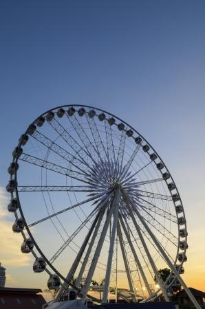 acrophobia: Ferris wheel Sunset