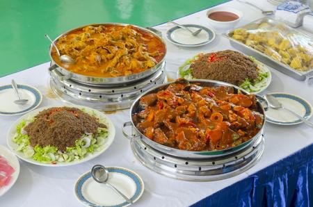 Indian food specialties photo