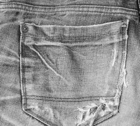 Abstract texture jeans photo