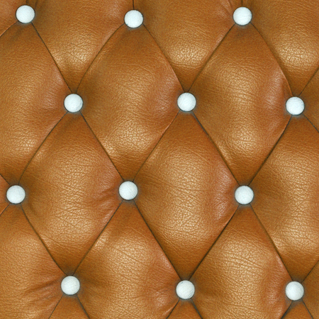Texture of brown leather of sofa background photo
