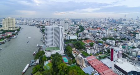 Bangkok skyline, Thailand photo