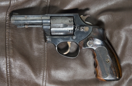 38 caliber: the brown old revolvers
