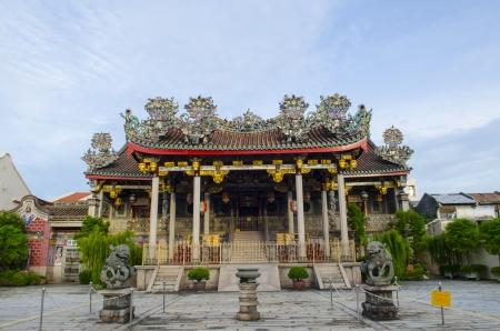 Khoo kongsi temple at penang, world heritage site