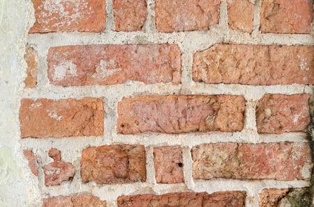 rough Brick Wall full frame photo