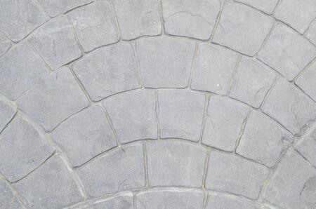 eine Textur-Hintergrund der Ziegelsteinstraße