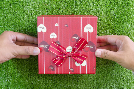 Gift box for your loved ones. photo