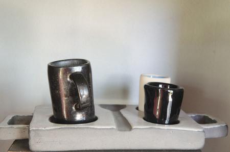 ceramic pots collection photo