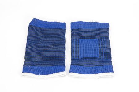 immobilize: Medical bandage ,Elastic bandage isolated on white