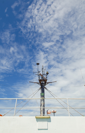 bowsprit: Luxury Yacht mast head equipment