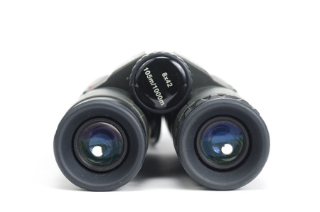 binoculars isolated on white