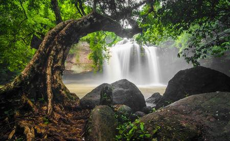 Water fall of Khao Yai National Park photo