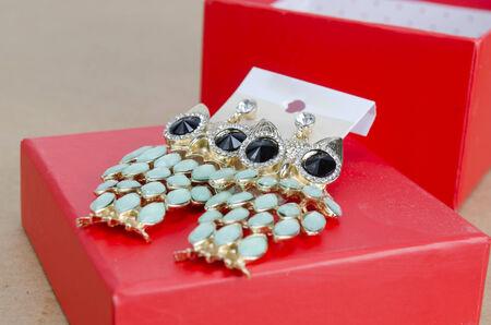 crystal earrings photo