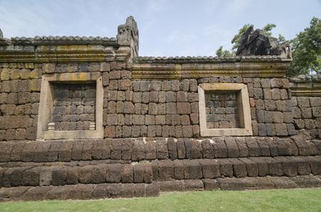 rung: Prasat Hin Phanom Rung or Phanom Rung Stone Castle Ruin of Buriram Thailand