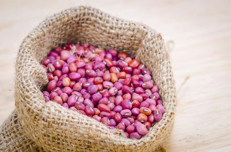 goober peas: Red kidney beans in the sack