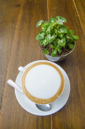 kafe: coffee latte