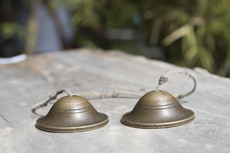thai musical instrument: Ching; Thai musical instrument; small cup shaped cymbals