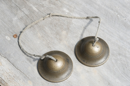 cymbals: Ching; Thai musical instrument; small cup shaped cymbals