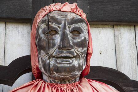 todaiji: Ancient wooden Buddha statue in Nara (Todai-ji temple)