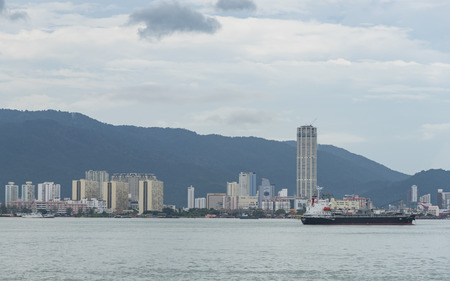 Penang view from the sea