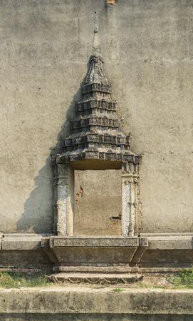 sangkhla buri: Sinking temple and Songkaria river at Sangkhla Buri District, Kanchanaburi province, Thailand.