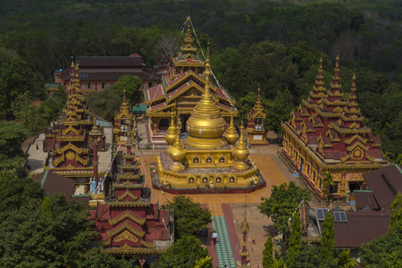pone: the big burma temple on the hill