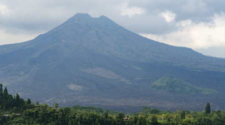 hight: hight mountain in Bali, Indonesia