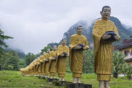 burmese: Burmese Buddha statue Stock Photo