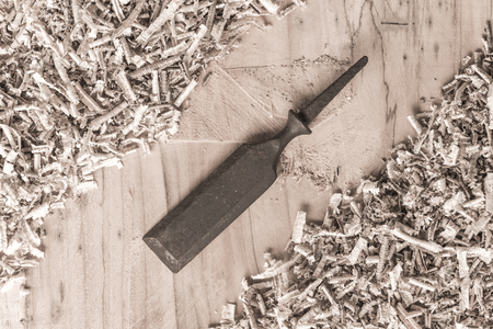 carpenter tools: old vintage carpenter tool Stock Photo
