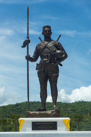 repeal: Hua Hin,THAILAND- SEMPTEMBER 27,2015:The under construction Rajabhakti park, King Naresuan were constructed by the Royal Thai Army at Hua Hin on September 27,2015 in Hua Hin,Thailand