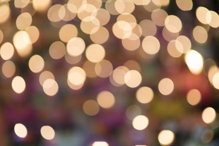 candlelit: Lights on bokeh Loy Krathong festival background