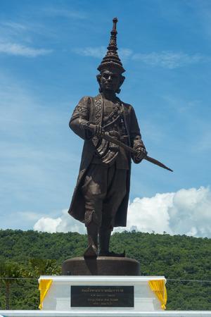 king ramkhamhaeng: Hua Hin,THAILAND- SEMPTEMBER 27,2015:The under construction Rajabhakti park,King Narai were constructed by the Royal Thai Army at Hua Hin on September 27,2015 in Hua Hin,Thailand