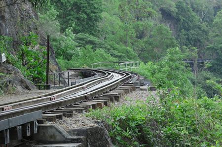 wood railroad: Railroad wood history world war II river kwai beautiful scenic evening sunset, kanchanaburi, thailand