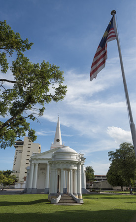 george: St. Georges Church - George Town, Penang, Malaysia