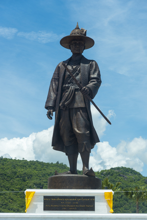 repeal: Hua Hin,THAILAND- SEMPTEMBER 27,2015:The under construction Rajabhakti park, King Rama I were constructed by the Royal Thai Army at Hua Hin on September 27,2015 in Hua Hin,Thailand