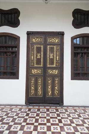 penang: old door in Penang