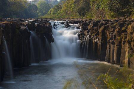 lao: waterfall at Lao